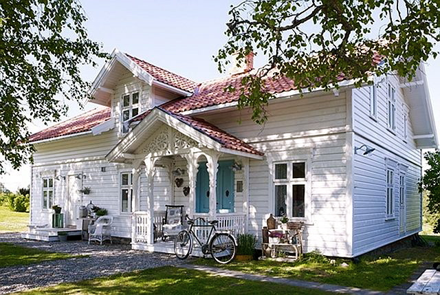 Cottage of the week lovely norway home bunch interior design ideas - Norwegian wood houses ...