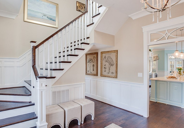 Base Boards Paint Color Ideas. Interior Designer Recommended Base Board Paint Color. The best crisp white paint color for base boards and millwork is Sherwin Williams SW7005 Pure White in an exterior acrylic latex paint. This will assure more resistance and durability.