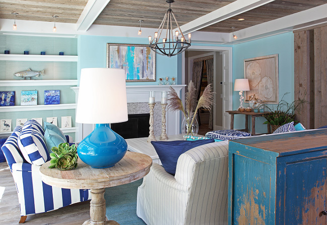 Ideas About Seaside Interiors Chic Coastal Living Free Home