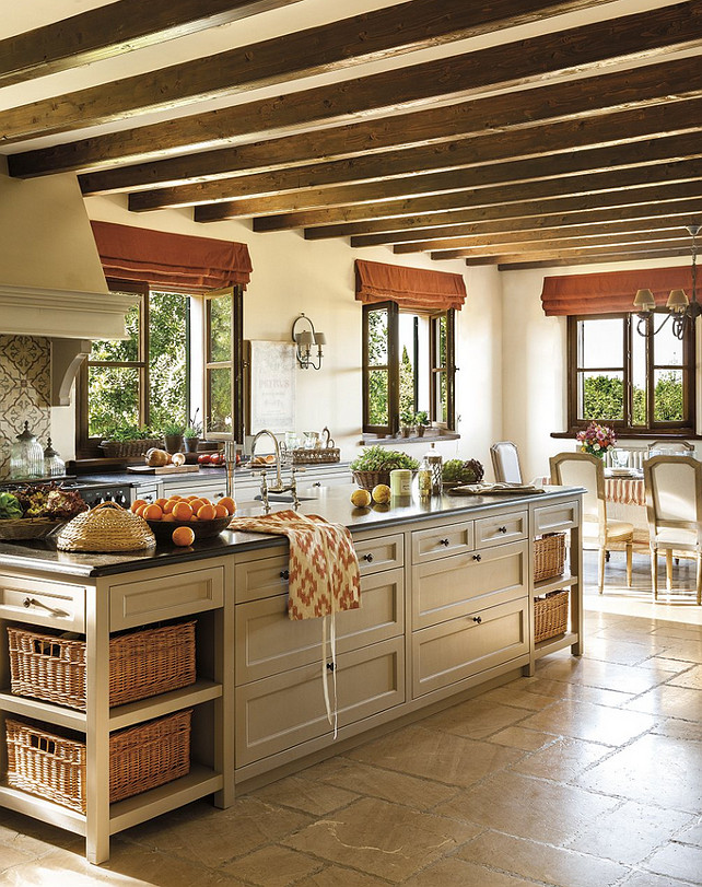 Beautiful French Kitchen Design French Kitchen