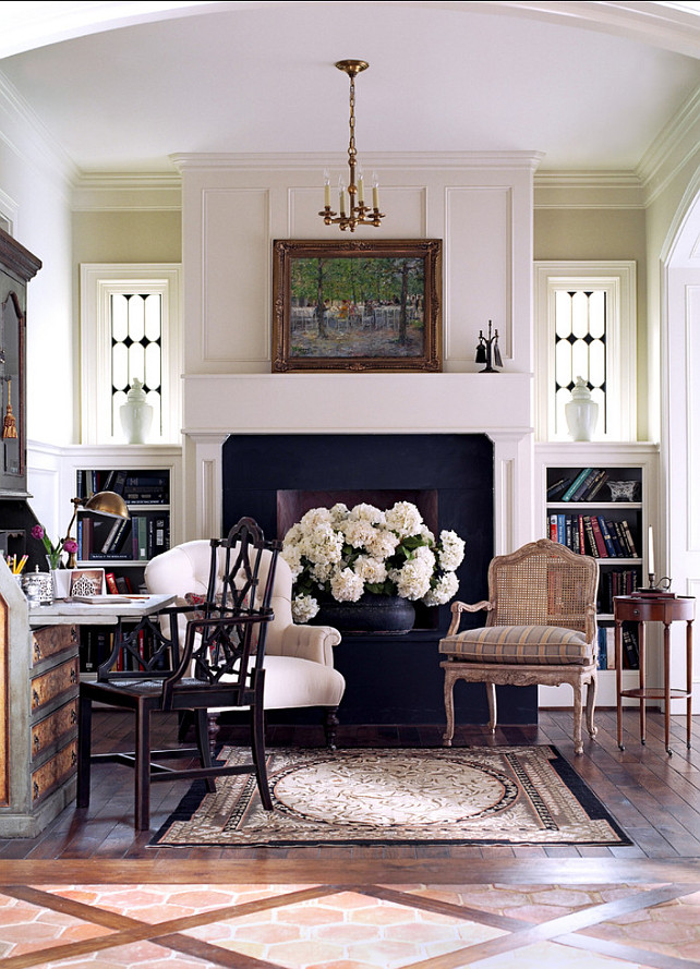 Parlor Design Ideas. Beautiful traditional French Parlor. #French Interiors #Parlor