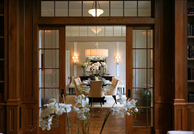 Classic home home bunch interior design ideas for Dining room ideas with french doors