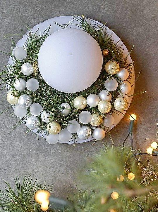 Easy Natural Christmas Decor Home Bunch Interior