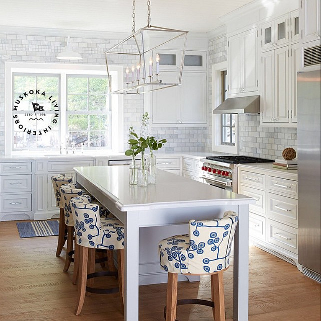 Lake House Interior Design Ideas this New Kitchen Design By Muskoka Living Interiors Simple And Perfectly Coastal Kitchen