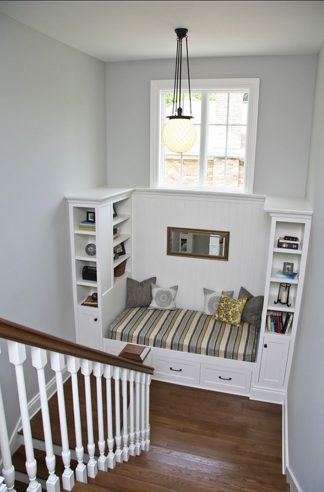 Small reading nook ideas on pinterest bookcases Built in reading nook