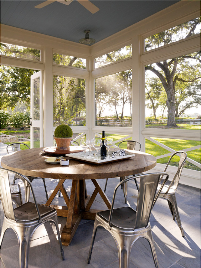 Screened Porch. Great Screened Porch design. #ScreenedPorch #Porch