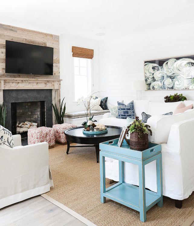 Traditional Transitional Coastal Interior Design Ideas: California Beach House With Coastal Interiors