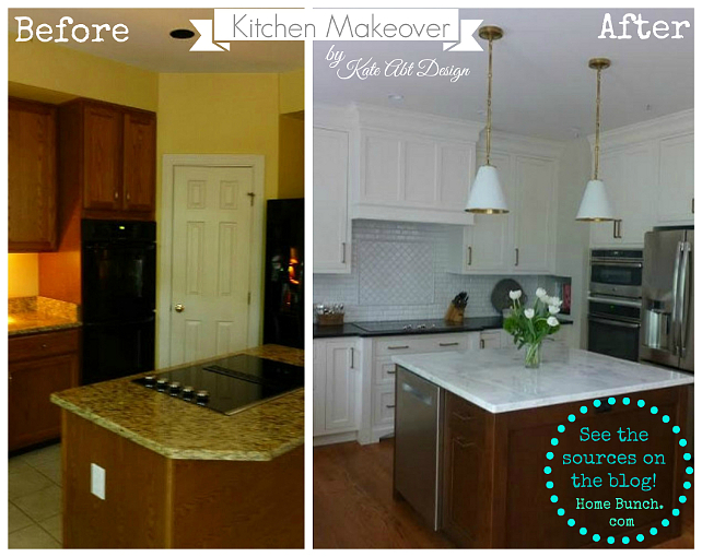 Before and After Kitchen Makeover Pictures. Before and After Kitchen. Before and After Kitchen Ideas. Before and After Kitchen Design. Before and After Kitchen Reno. Before and After Kitchen Makeover #BeforeandAfter #Kitchen #BeforeandAfterKitchen #BeforeandAfterMakeover #BeforeandAfterInteriors Kate Abt Design.
