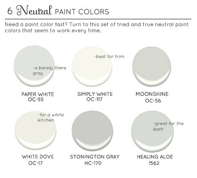 Color palettes paint colors on pinterest benjamin for Neutral blue grey paint color
