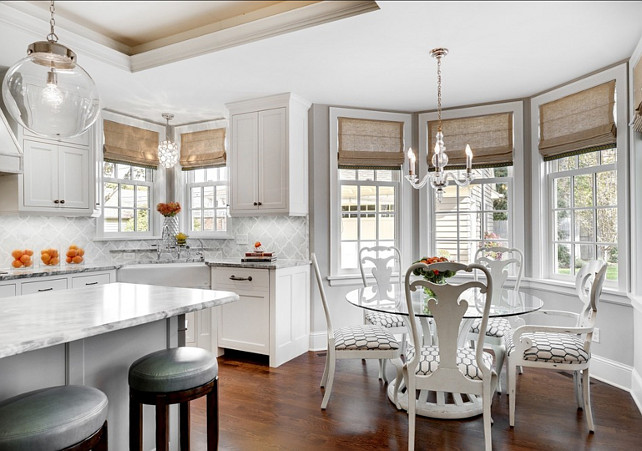 Kitchen Window Treatments Breakfast Nooks