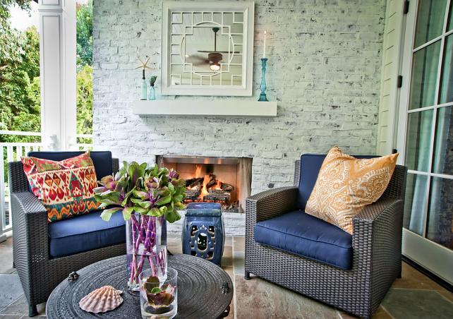 Colorful Outdoor Deck Decorating Ideas: Home Bunch Interior Design Ideas