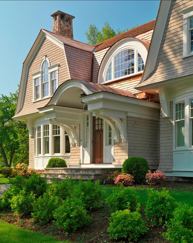 Elegant Gambrel Shingled Home Home Bunch Interior Design