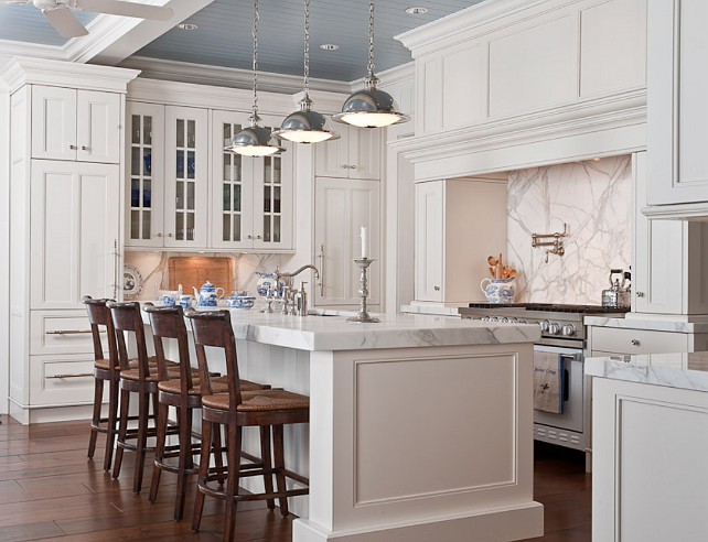 Classic White Kitchen white kitchen design - home bunch – interior design ideas