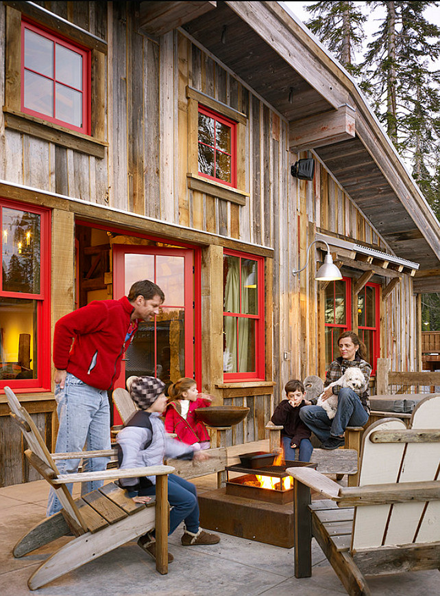 Ski Cabin With Rustic Interiors Home Bunch Interior