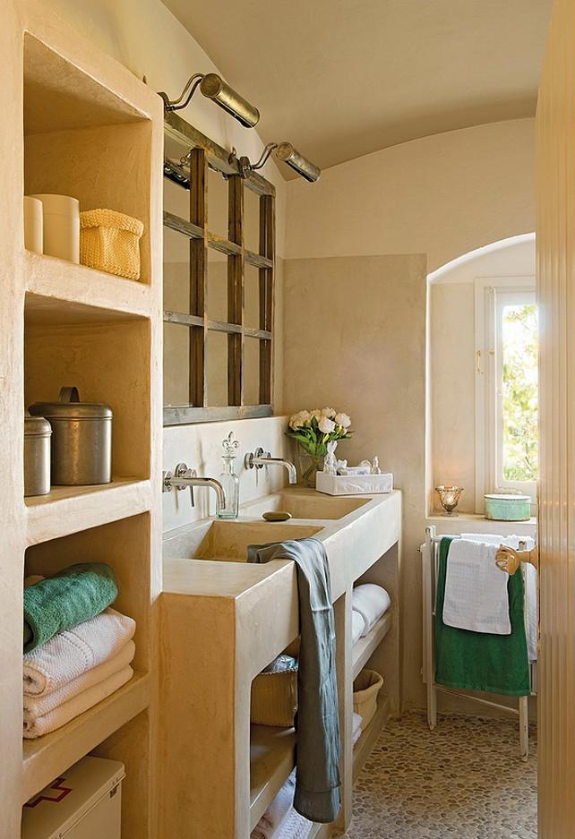 Bathroom with double sinks. #Bathroom #Sinks