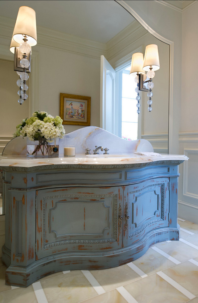 French Inspired Bathroom Blue And Green: Home Bunch Interior Design Ideas