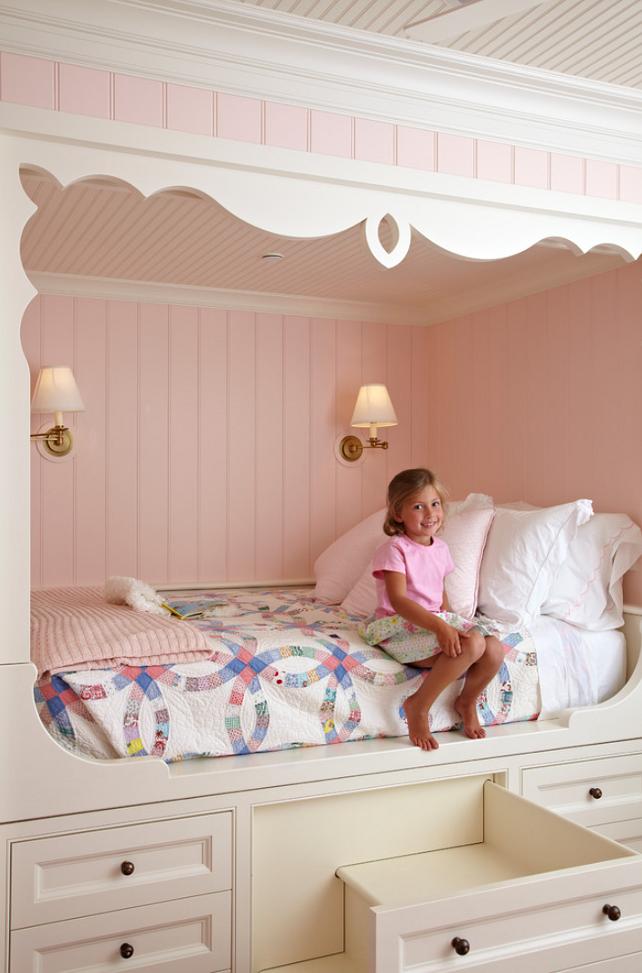 Girls Cottage Bedroom