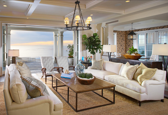 Coastal Living Room Design I Am In Love With This Coastal Living Room