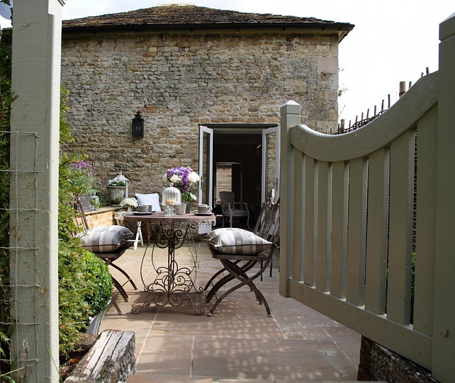 Shabby and charme a stamford un romantico cottage french for Nuovo stile cottage in inghilterra