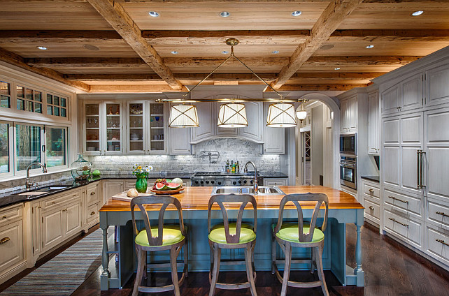Rustic Ranch Style Home With Inspiring Kitchen Home