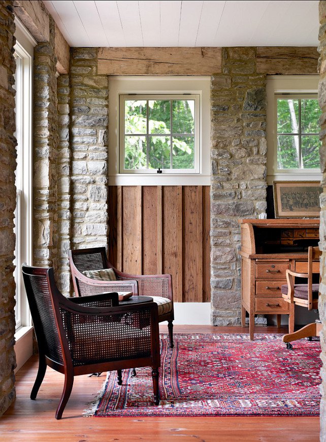 Rustic Interiors. This cottage has some great rustic interior ideas! #RusticInteriors #Rustic #Interiors