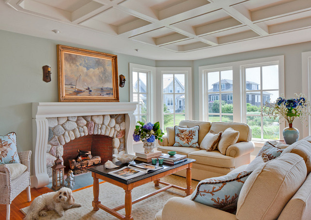 Living Room. Great Coastal Living Room Design. #LivingRoom #LivingRoomDecor #LivingroomDesign