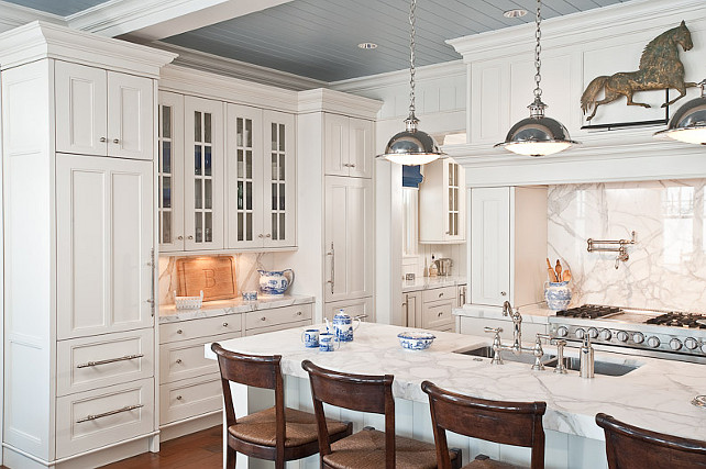 White Kitchen Design. This ...