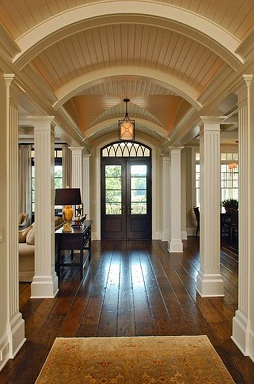 Foyer home bunch interior design ideas for Arch inside home designs
