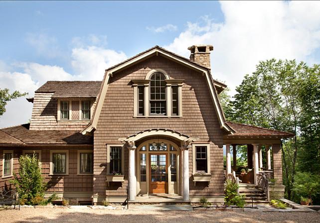 Shingle Style Homes. Beautiful Shibgle Style Home! #Shingle #Home #Hamptons #Architecture
