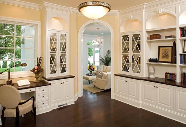 Dark Cherry Wood Bathroom Wall Cabinet