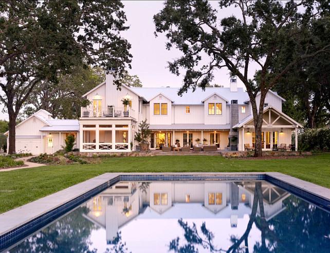 Pool and backyard ideas. Great pool design for spacious backyard.  #Pool #Backyard