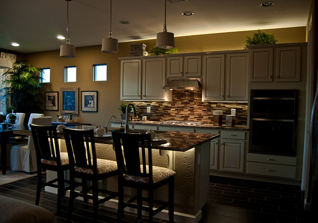 Installing Under Cabinet LED Lighting on Your Own - Home Bunch ...