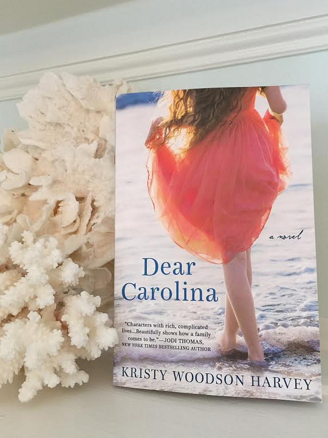 2015 Summer Book Ideas. Dear Carolina by Kristy Woodson Harvey. #DearCarolina #2015Books #SummerBooks #KristyWoodsonHarvey