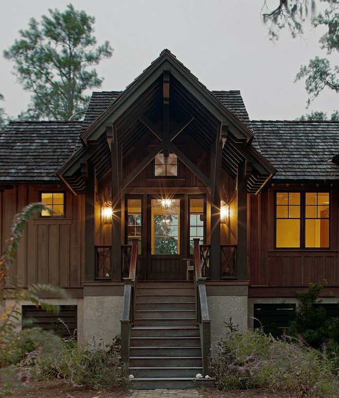 Cabin Style Home. Mountain Cabin Style Home. Rustic Cabin Style Home Exterior. Cabin Style Home Exterior Design. Cabin Style Home Ideas. #CabinStyleHome #Cabin #Architecture #CabinExterior #ExteriorIdeas Wayne Windham Architect, P.A. Interiors by Gregory Vaughan, Kelley Designs, Inc. Photos by Atlantic Archives, Inc.
