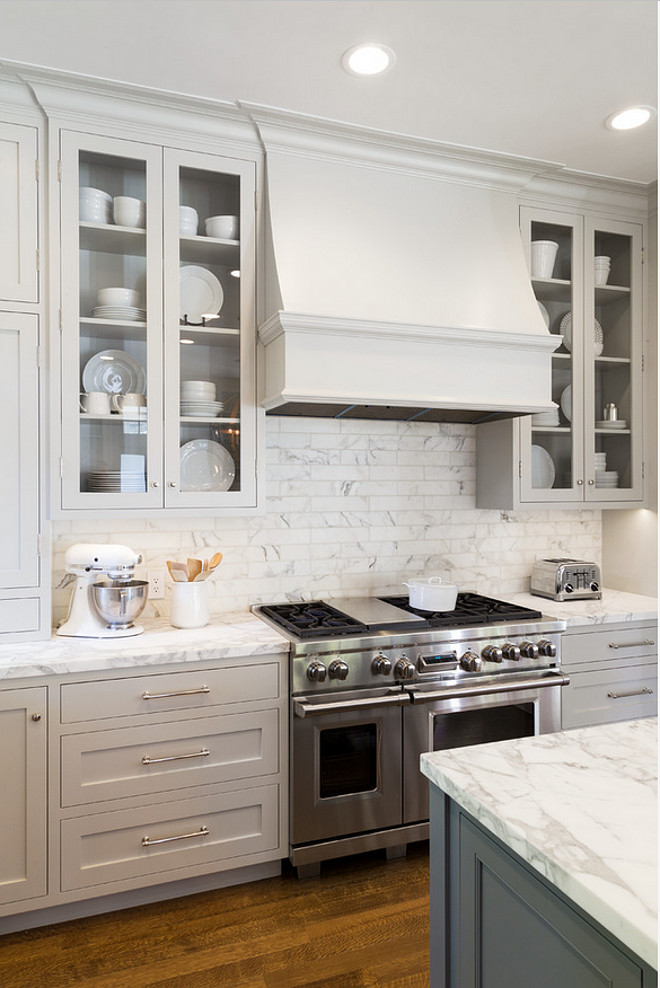 gray owl cabinets the ultimate gray kitchen design ideas home bunch 203
