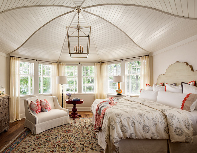 Bedroom Ceiling. Bedroom Ceiling Design. Bedroom Ceiling Millwork Ideas. Bedroom Ceiling Ideas. Bedroom Ceiling. Bedroom features a DARLANA LANTERN by Circa Lighting. #Bedroom #Ceiling Wade Weissmann Architecture.