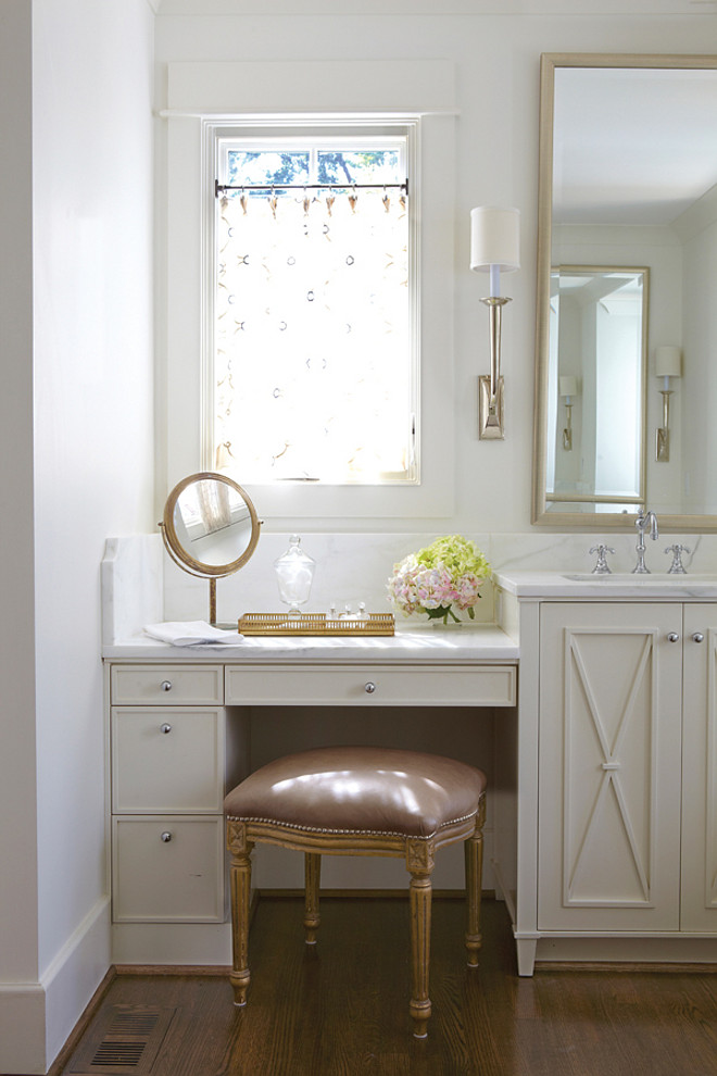 Bathroom. Bathroom vanity design ideas. #Bathroom #Vanity Jan Ware Designs, LLC.