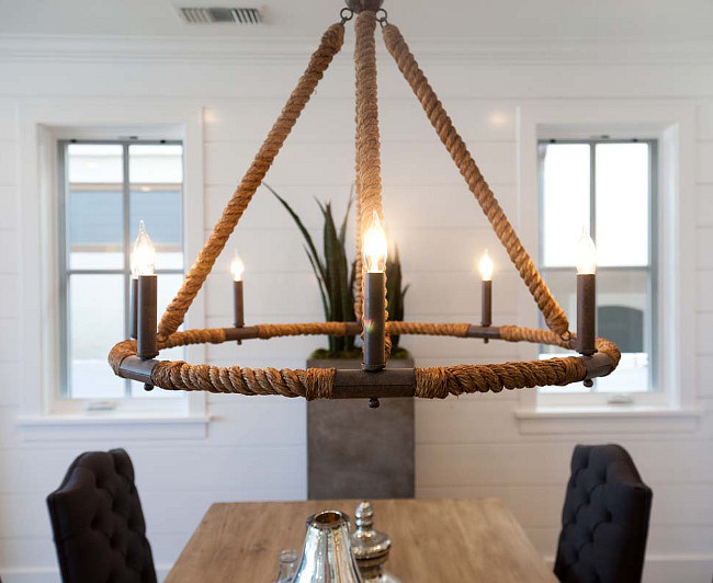 Beach House Chandelier Lighting Nautical Ideas Beautiful Dining Room