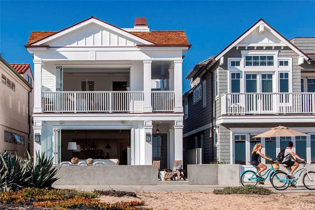 Beach house for sale. California Beach House for Sale. 1115 East Balboa Boulevard, Newport Beach. California Beach House #BeachHouse #Realestate Arbor Real Estate.