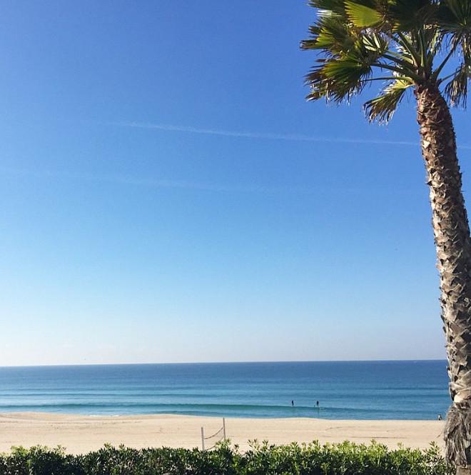 California beach. Photo by Rita Chan Interiors.