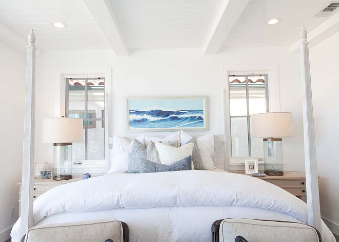 cape cod inspired beach cottage home bunch interior 14839 | coastal bedroom white coastal bedroom design blue and white coastal bedroom white coastal bedroom ideas white coastal master bedroom white bedroom coastalbedroom whitebedroom