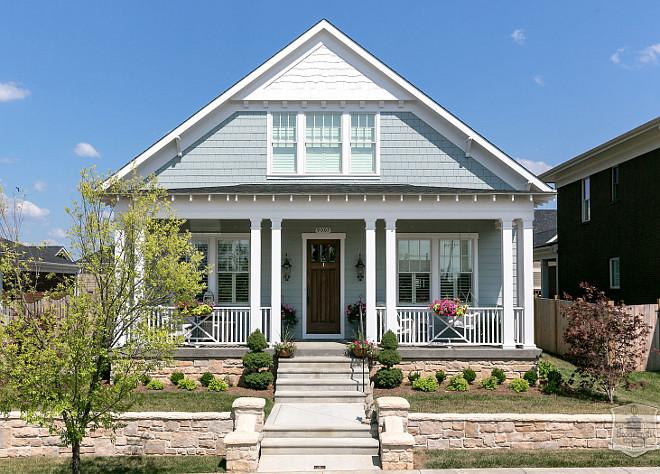 Cottage Home Exterior Paint Color - Stonecroft Homes