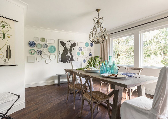 Dining Room. Chic farmhouse dining room. Chic farmhouse dining room table. Chic farmhouse dining room furniture. #Chic #farmhouse #diningroom Heydt Designs.