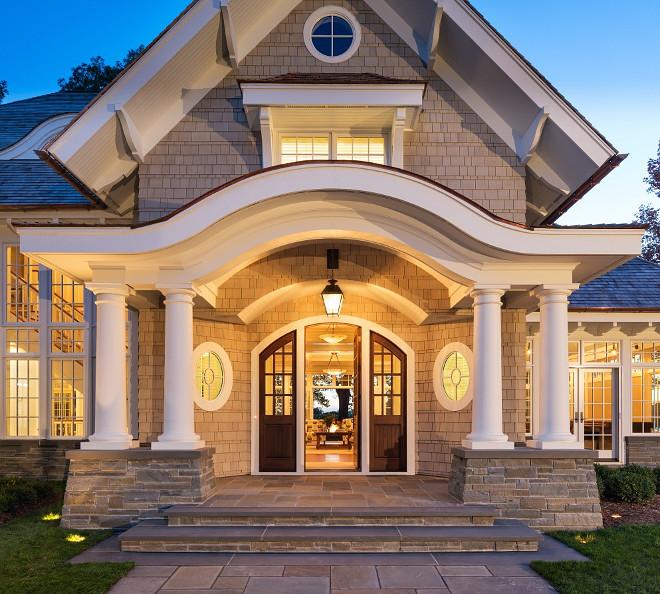 Exterior columns for houses craftsman exterior by paul for John paul greene custom homes