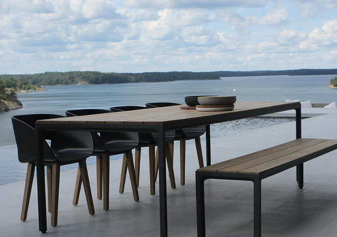 Illum table design by Tribu. Illum table design by Tribu. Contemporary Outdoor Table. Classic Comtemporary Outdoor Furniture.