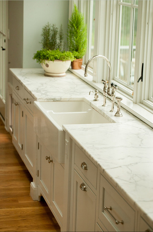 Farmhouse kitchen renovation home bunch interior design - Kitchen design marble countertops ...