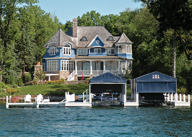 Lake Geneva, WI House for Sale. Lake house on Lake Geneva, WI. Lake Geneva, WI Houses. #LakeGeneva #WI #LakeHouse #Houseforsale #Realestate Grand Estates Auction Company.