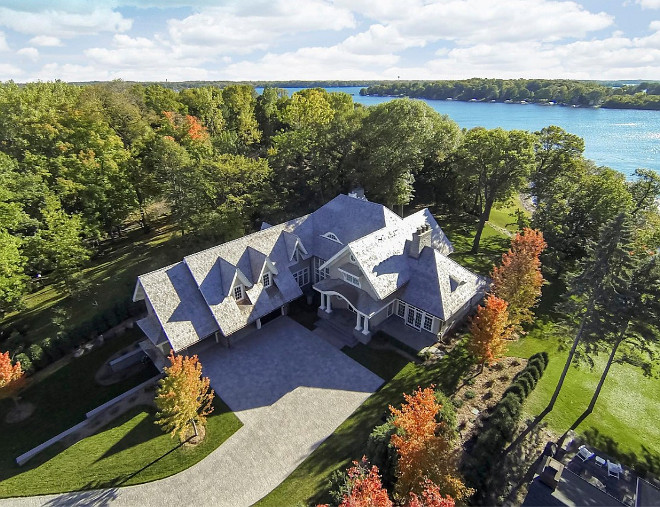 Lake House Arieal View. Lake House Planing. Lake House Planing Arial View. Lake House layout arial view. #LakeHouse #AerialView John Kraemer & Sons.