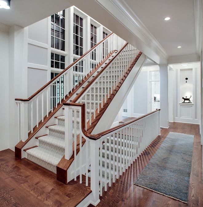 Stairway Runner. Gray Stairway Runner. Light Gray Stairway Runner. #Gray #Stairway #Runner John Kraemer & Sons.