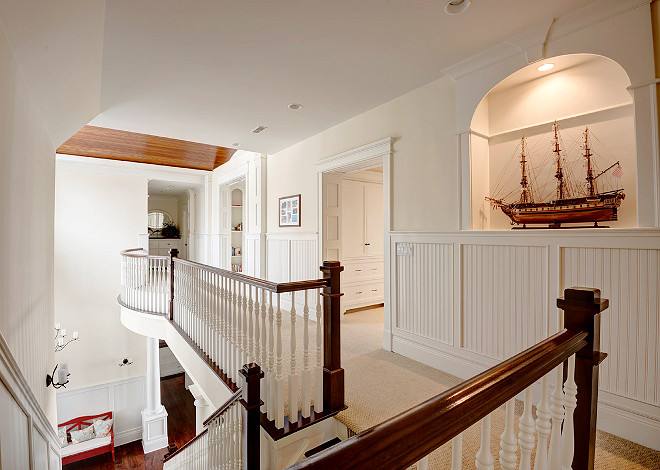Stairway. Coastal Home Stairway. Coastal Home Stairway Foyer Ideas. Stairway Landing. Stairway Design. #Stairway Grand Estates Auction Company.